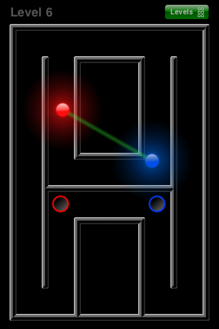 Multimaze, by squz games, for iPhone iPad iPod on the Apple AppStore screenshot
